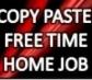 Easy Copy paste jobs on www.dataentry-biz.com
